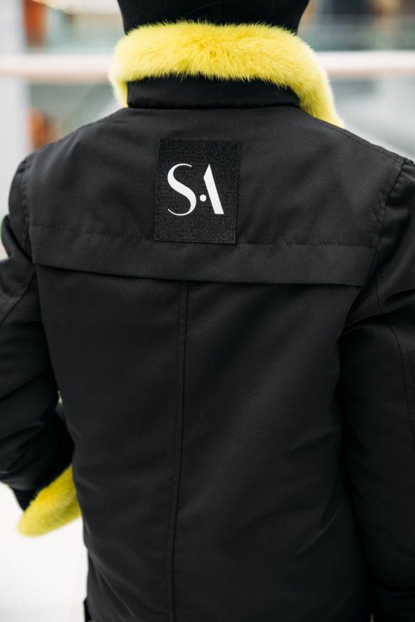 Курточка со скандинавской норкой