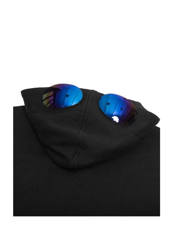 Худи с очками черная