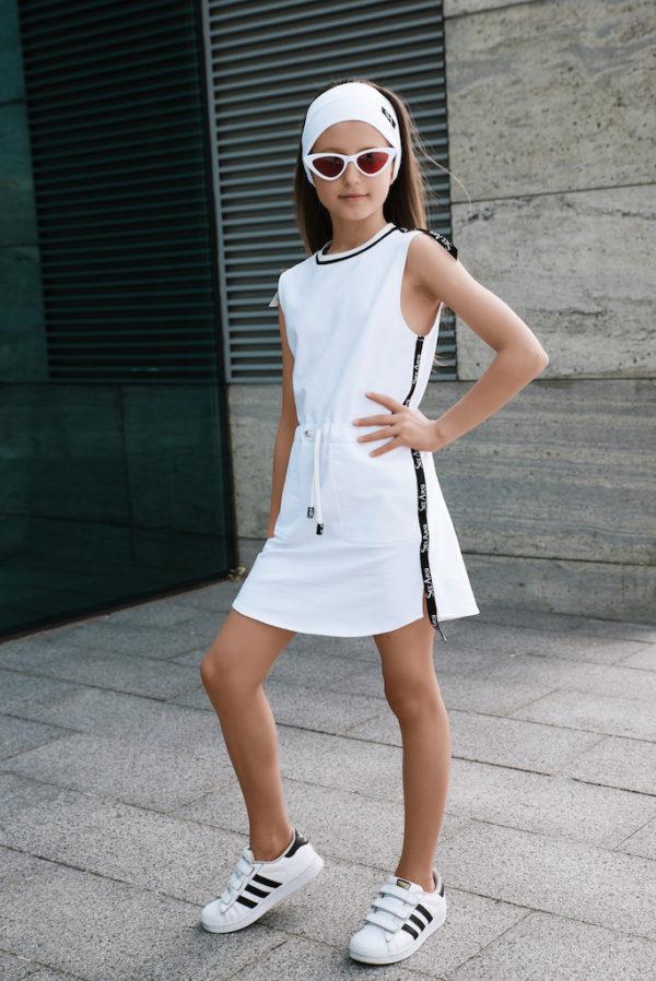 Платье летнее белое