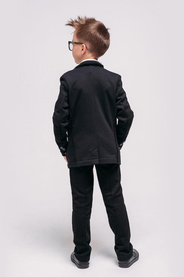 Пиджак трикотаж школа