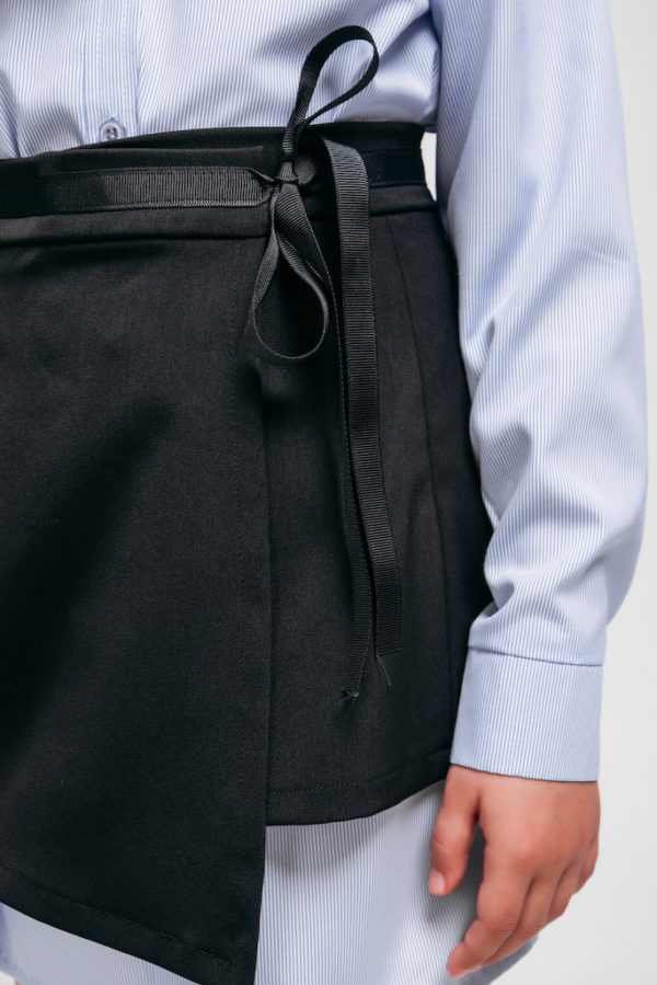 Баска из костюмной ткани Base Classic