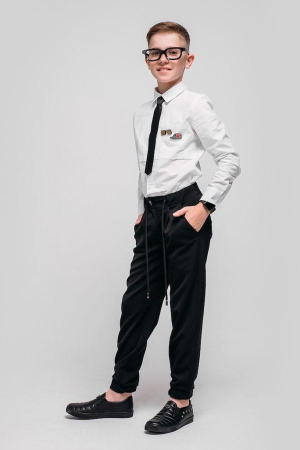 Рубашка Unisex Base Classic воротник английский спред