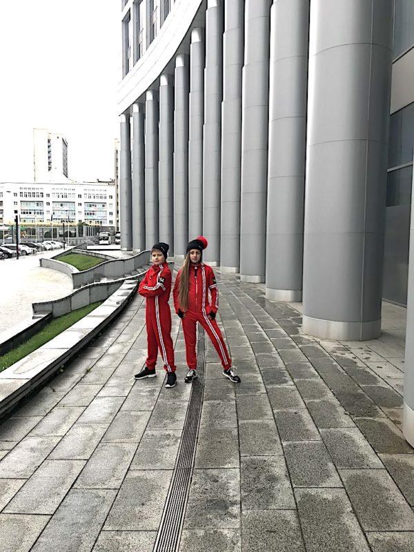 Комбинезон красный INSPIRATION