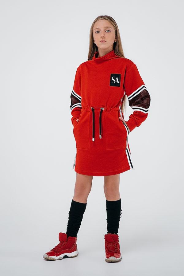 Платье красное INSPIRATION