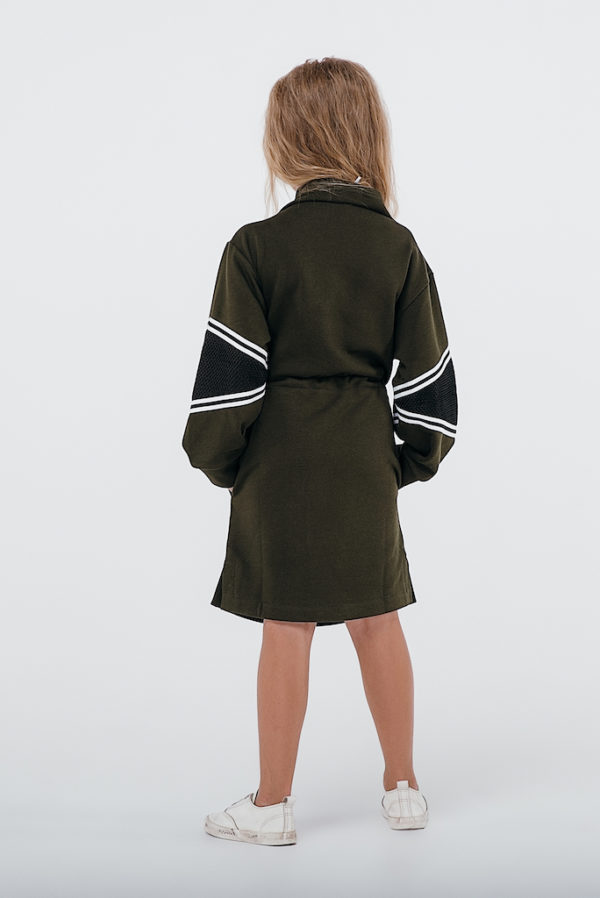 Платье хаки INSPIRATION