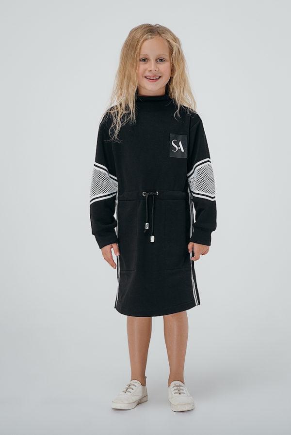 Платье черное INSPIRATION