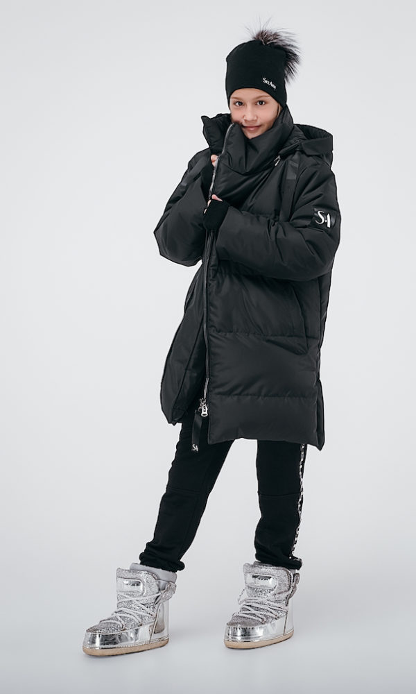 Куртка зимняя черная INSPIRATION
