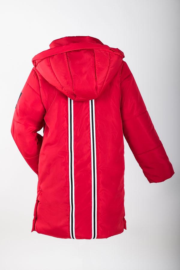 Куртка зимняя красная INSPIRATION