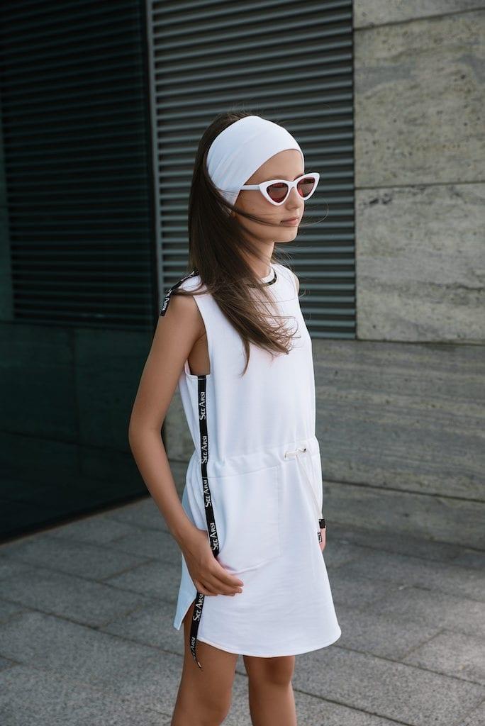 В Платье Summer от See Arsi вашему ребенку будет легко и комфортно этим летом: