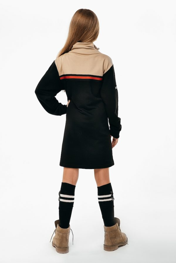 Платье Meridian See Arsi черно - бежевая