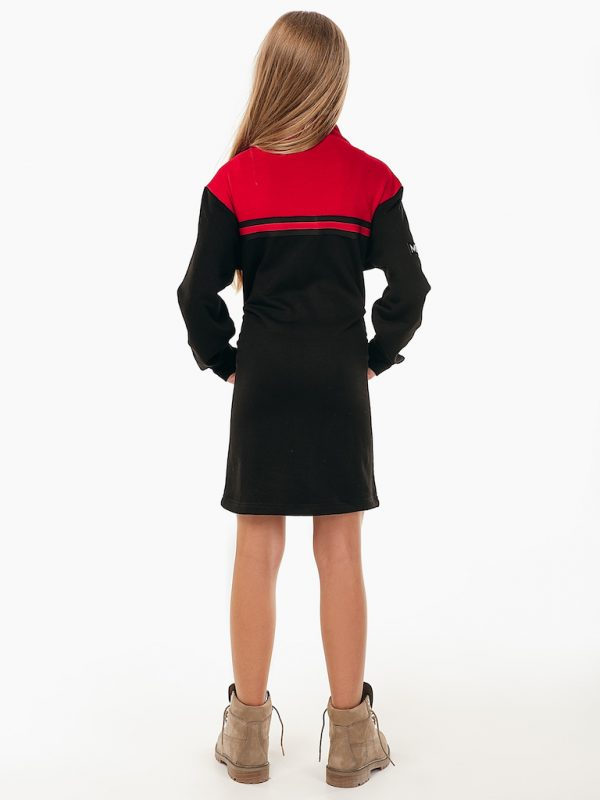 Платье Meridian See Arsi черно - красное