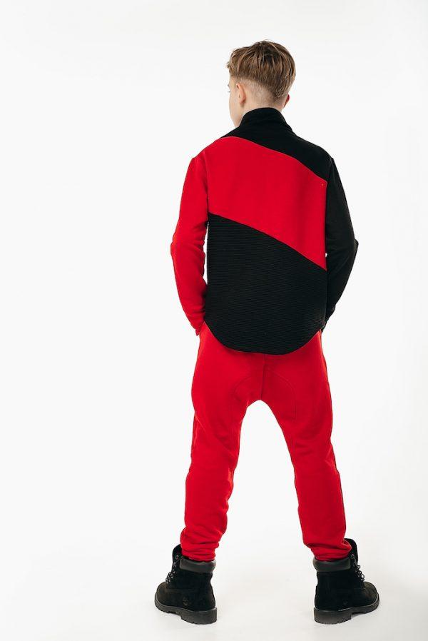 Брюки трикотажные Urdan Style красные