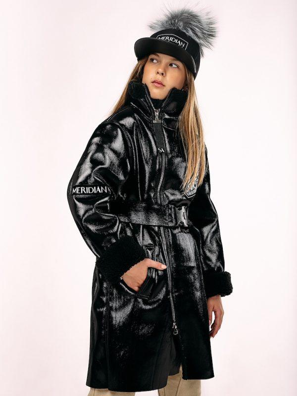Лаковая дубленка See Arsi, серия Limited Edition