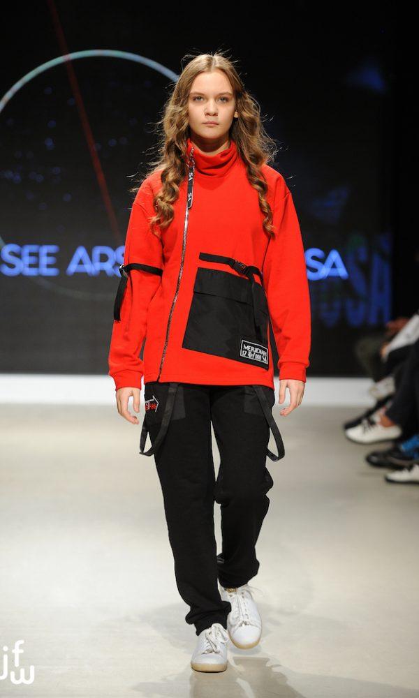 Urban Jacket красный