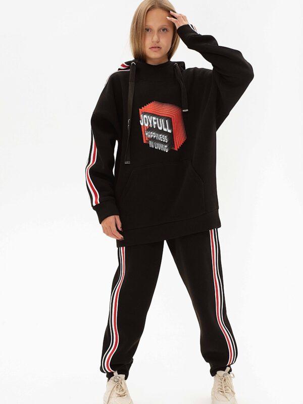 Спортивный костюм с начесом для девочки